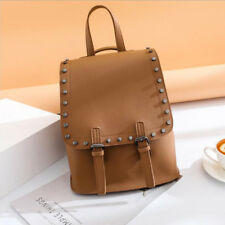 Fashion Rivet Design Backpack For Women - Brown (EFG061121)