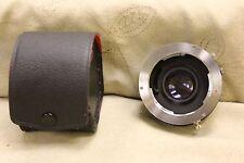 Asanuma Auto Tele Converter 2X for MINOLTA-MD Comes in Case