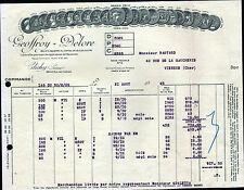 "CLICHY (92) CABLES ELECTRIQUES ""GEOFFROY & DELORE"" en 1929"