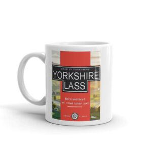 Yorkshire Lass Coffee Tea Cup Cafe Mug Gift