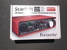 Focusrite Scarlett 2i2 USB Recording Interface Brand New in Box