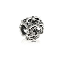 Authentic Pandora Shimmering Sentiments Openwork Charm.