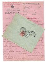 lettera dai tempi della Guerra - Richiami al fronte e varie - anno 1917 - n. 31