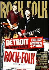 ROCK&FOLK N°560 AVRIL 2014 DETROIT-CANTAT/ ROLLING STONES/ SHAKA PONK/STRANGLERS
