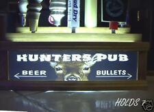 DEER HUNTERS PUB 7 tap handle holder /Lights up