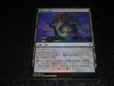 Witch's Cottage FOIL Japanese x1 Throne Of Eldraine mtg SP