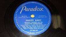 KNOCKY PARKER & CRESCENT SERENADERS Pretty Baby/ Crazy Kid Blues 78 Paradox