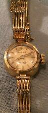 ROLEX 18K Gold Orchid W/ Original Box Vintage Antique 18K Gold Bracelet Rare