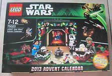 LEGO Adventskalender Star Wars 75023 v. 2013 mit Boba Fett Junge Rare Neu & OVP