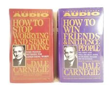 Dale Carnegie How to Win Friends & Influence People Audio Cassette Start Living