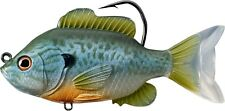 Live Target Swimbait SFS90MS551 Sunfish Pumpkinseed Natural Blue 3.5 Inch Lure