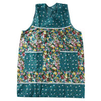 Kitchen Cooking With Pocket Women Floral Cloth Apron Waist Bib Women Apron W