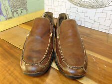 Cole Haan Nike Air Brown Leather Loafers Men's size 9M #C08038