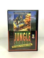 Jungle Strike Sega Genesis 1993 Video Game Authentic No Manual Tested