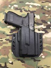 Black Kydex Light Bearing Holster for Glock 19 23 32 Inforce APLc