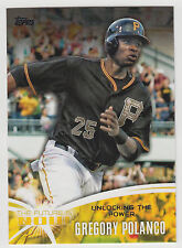 GREGORY POLANCO 2014 Topps Update The Future Is Now Card #FN-GP3 Pirates