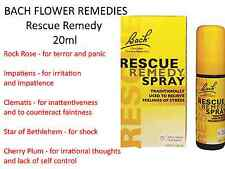 2 x 20ml BACH FLOWER REMEDIES Rescue Remedy 40ml Spray MARTIN & PLEASANCE