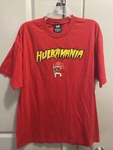 Vintage WWE Hulk Hogan Double Sided Hulkamania T-Shirt - Extra Large 2002