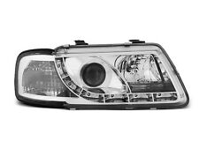PHARE AUDI A3 8L 08.96-08.00 DAYLIGHT CHROME LA PAIRE
