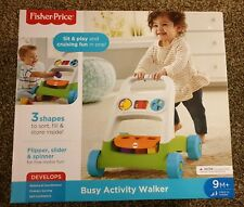 New Fisher Price - Busy Activity Walker - Toy Baby Toddler 9M+