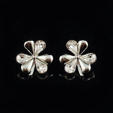 Handmade Alloy Crystal Stud Fashion Earrings