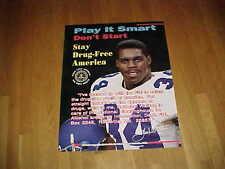 1997 Dallas Cowboys Herschel Walker Football Poster