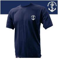 T-Shirt Troupes de MARINE NATIONALE Française TDM - Taille XL /112 - 100% Cotton