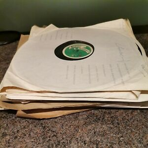 16 x 78rpm soundtrack 12'' Boosey Hawkes Theme Music Library sound effect