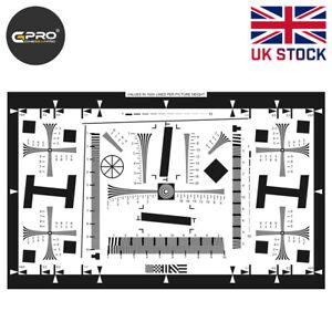 ISO 12233 2X Standard Resolution Lens Test Chart 765x475mm UK Stock
