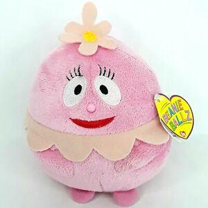 Ty Beanie Ballz Foofa plush soft toy doll Yo Gabba Gaba Small