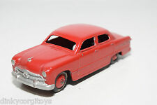 DINKY TOYS 170 FORD FORDOR SEDAN RED NEAR MINT REPAINT
