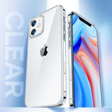 Transparent Clear Hard Plastic Cell Phone Cover Case For iPhone 12 Pro Max Mini