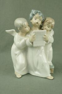 LLADRO schöne alte Figur 3 Engel 17,5 cm