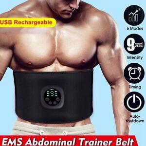 ABS Stimulator Bauchmuskeltrainer Trainingsgerät EMS Elektro Fitness Exerciser