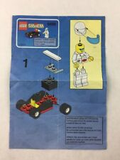 Lego System - Race Car Set 6498 Instructions / Manual / Only - 1999