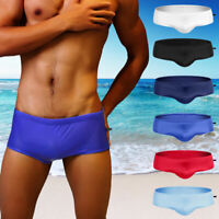Men Sexy Surf Briefs Shorts Swimwear Beach Swimsuit Swimming Beach Trunks