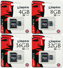 Kingston 4GB 8GB 16GB 32GB Class 4 micro SD SDHC Memory Flash Card SDC4