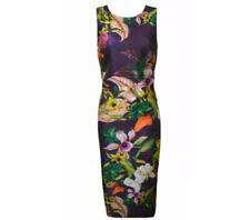 Next Floral Print Dress Size 18
