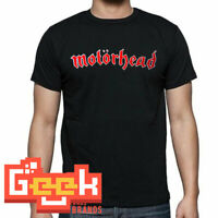 MOTORHEAD TSHIRT - PUNK ROCK MEN's T SHIRT SMALL-5XL RED/WHITE LOGO