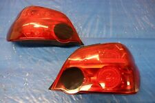 2007 SUBARU IMPREZA WRX STI SEDAN OEM LH RH REAR BRAKE TAIL LIGHT PAIR #2479