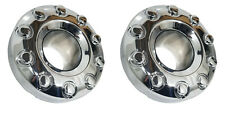 (2) Factory OEM 2006 Ford F550 F-550 Chrome Center Hub Caps 10 Lug Front Open