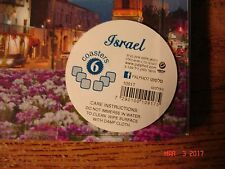 Drink Coasters, Set of 6 from Holy Land Israel