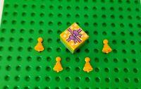 New! Lego  Birthday Present & 4 Party Hats Slumber Celebration Purple Friends