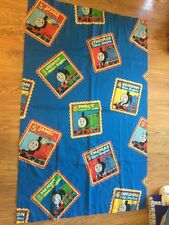 "Thomas Train Curtains Two PanelsDan River Each Panel 40""x63"""