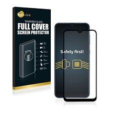 Full Cover Samsung Galaxy A50 Schutzpanzer Glasfolie schwarz 9H Panzerfolie