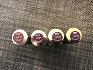 (4) Stay Luscious Covergirl Queen Lipstick Lot Of 4