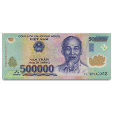 ONE MILLION VIETNAM DONG CURRENCY (VND) - (2) 500,000 Banknotes - Fast Shipping