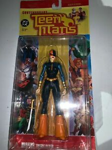 RARE 2004 DC Contemporary Teen Titans  RAVAGER Action Figure Girl Deathstroke