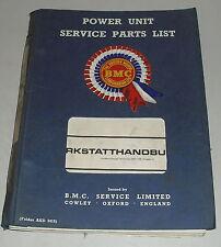 Manual de taller Austin Maxi ADO14 en alemán por 1970