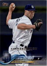 2018 Topps Limted Baseball Card #s 501-700 (A3869) - You Pick - 10+ FREE SHIP